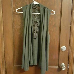 Sweaters - Wrap/cardigan